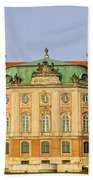 Royal Castle In Warsaw Bath Towel