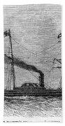 Royal Yacht, 1843 Bath Towel