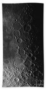 Rupes Recta Ridge And Craters Pitatus Bath Towel