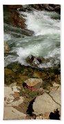 Rushing Water Glen Alpine Creek  Bath Towel