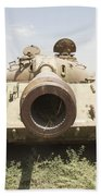 Russian T-54 And T-55 Main Battle Tanks Hand Towel