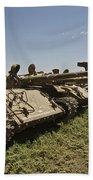 Russian T-62 Main Battle Tanks Rest Bath Towel