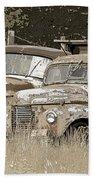 Rustic Trucks Bath Towel