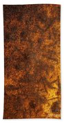 Rusty Background Bath Towel