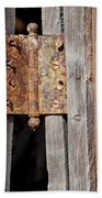 Rusty Hinge Bath Towel