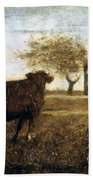 Ryder: The Pasture, C1875 Bath Towel
