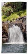 Sacred Pool Waterfall Bath Towel