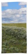 Sagebrush And Buffalo Bath Towel
