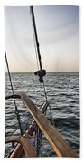 Sailing The Seas Bath Towel
