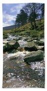 Sally Gap, River Liffey, Co Wicklow Bath Towel