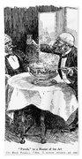 Samuel Clemens Cartoon Bath Towel