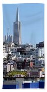 San Francisco Panorama Bath Towel