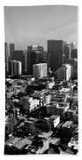 San Francisco Hand Towel by Valeria Donaldson
