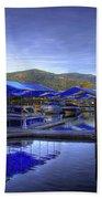 Sandpoint Marina And Power House 2 Bath Towel