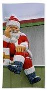 Santa Is Waiting For You Bath Towel