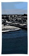 Santa Monica Pier Bath Towel