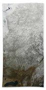 Satellite View Of Eastern Canada Bath Towel
