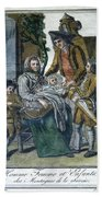 Savoyard Family, C1797 Bath Towel
