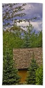 Scene Through The Trees - Vail Bath Towel