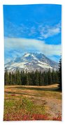 Scenic Mt. Hood In Oregon Bath Towel
