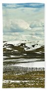 Scenic Wyoming Bath Towel