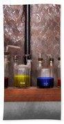 Science - Chemist - Glassware For Couples Bath Towel