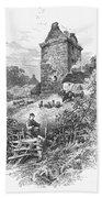 Scotland: Gilnockie Tower Bath Towel