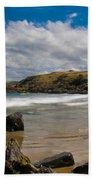 Sea Landscape With Bay Beach Bath Towel