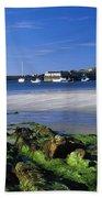 Seashore, Portnablagh, County Donegal Bath Towel