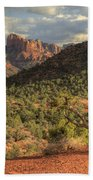Sedona Red Rock Viewpoint Bath Towel