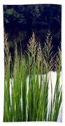 Seedy Grass Bath Towel
