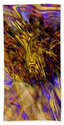 Seize The Day - Abstract Art Bath Towel