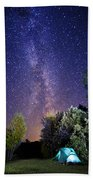September Night Sky Bath Towel