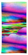 September Sunrise Abstract Bath Towel