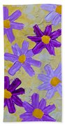 Seven Flowers Bath Towel