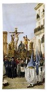 Seville: Good Friday, 1862 Bath Towel