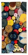 Sewing - Buttons - Bunch Of Buttons Bath Towel