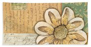 Shabby Chic Floral 2 Hand Towel