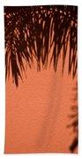 Shadows Of A Palm Bath Towel