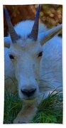 Shady Goat Bath Towel