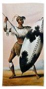 Shaka Zulu (c1787-1828) Bath Towel