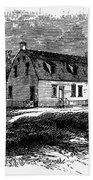 Shaker Church, 1875 Bath Towel
