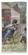 Sharecroppers, 1876 Bath Towel
