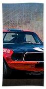 Shelby Racing Co Mustang Bath Towel