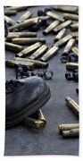 Shell Casings From A .50 Caliber Bath Towel