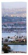 Shelter Island Point - San Diego Bath Towel
