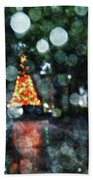 Shiny Tree In Bienville Square Bath Towel