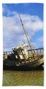 Shipwrecks, Bunbeg, Co Donegal Bath Towel