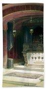 Shrine Of The Annunciation Nazareth Bath Towel