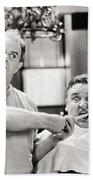Silent Film Still: Doctor Bath Towel